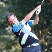 難セッティングの中で唯一の60台! イングランド出身のP.ウェセリンが単独首位へ ※画像提供:日本ゴルフ協会 2013年 第23回日本シニアオープンゴルフ選手権競技 2日目 ポール・ウェセリン