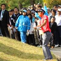 上位で決勝ラウンドに進出したアマチュア和田だったが、79と悔しい土曜日に。 2013年 マイナビABCチャンピオンシップゴルフトーナメント 3日目 和田章太郎