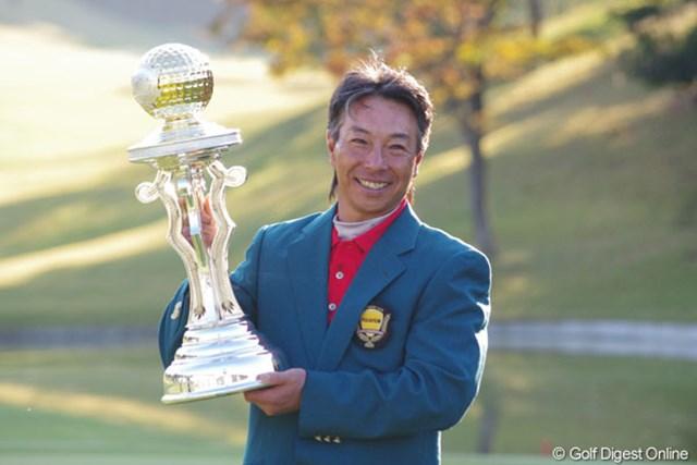 2013年 富士フィルムシニアチャンピオンシップ 事前 井戸木鴻樹 連覇のかかる舞台へ、井戸木鴻樹は世界のメジャータイトルを引っ提げて戻ってきた