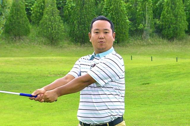 ゴルフクラブの取扱説明書 Vol.7 シャフトをうまく使って飛ばす方法 1P パワーを効率よく伝えるにはシャフトの使い方が需要
