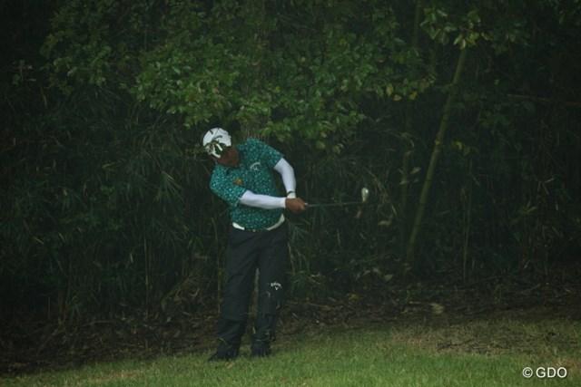 2013年 HEIWA・PGM CHAMPIONSHIP in 霞ヶ浦 初日 プラヤド・マークセン ついにジャングルに帰ってしまった?