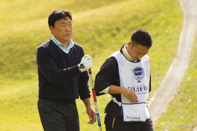 2013年 富士フォルムシニアチャンピオンシップ 初日 羽川豊 暫定2位タイの好スタートを切った羽川豊、逆転賞金王に望みを繋げるか