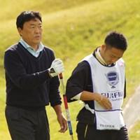 暫定2位タイの好スタートを切った羽川豊、逆転賞金王に望みを繋げるか 2013年 富士フォルムシニアチャンピオンシップ 初日 羽川豊
