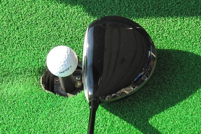 新製品レポート ヤマハ インプレス RMX 01 ドライバー ヘッド体積は445cc。パーシモンを彷彿させる美しいヘッドシェイプ
