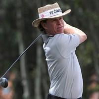 7バーディ、ノーボギーで暫定首位に立ったベアード(Stan Badz/PGA TOUR) 2013年 マックグラッドリークラシック 初日 ブライニー・ベアード