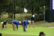 2013年 HEIWA・PGM CHAMPIONSHIP in 霞ヶ浦 3日目 スタッフ
