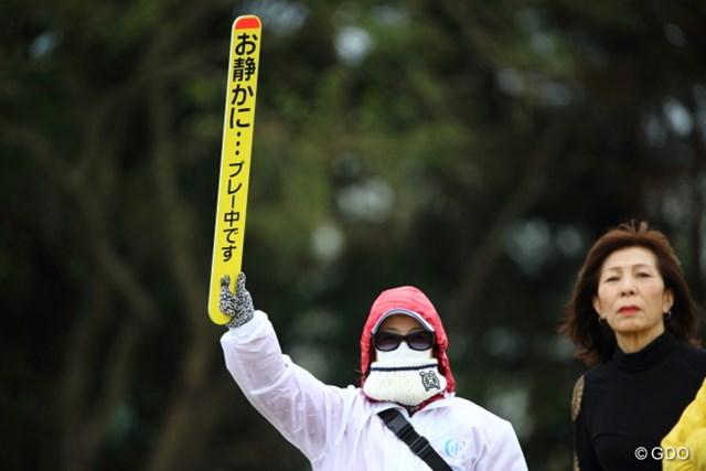 2013年 HEIWA・PGM CHAMPIONSHIP in 霞ヶ浦 3日目 ボランティア そのままコンビニ入れません。