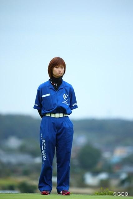 2013年 HEIWA・PGM CHAMPIONSHIP in 霞ヶ浦 3日目 原田キャディ お家にほとんどいないから家賃も半分とかにならないかなぁ。