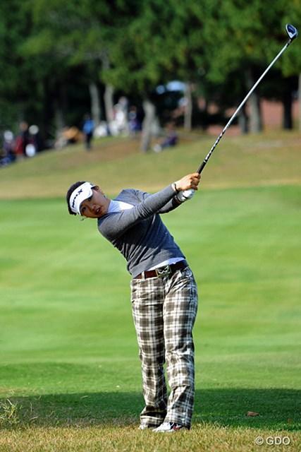 なんか久しぶりに調子良さそうですワ。日本LPGAの韓流選手としてベスト10に食い込んでるのは、この人とウンビだけになりました。10位T