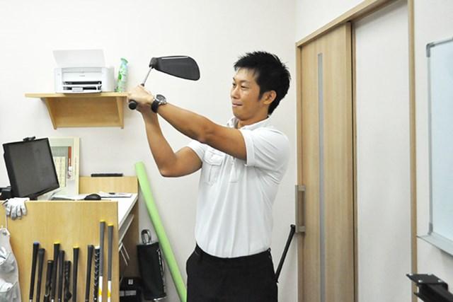 golftec コンパクトなトップへ徹底改善(2) 3-1