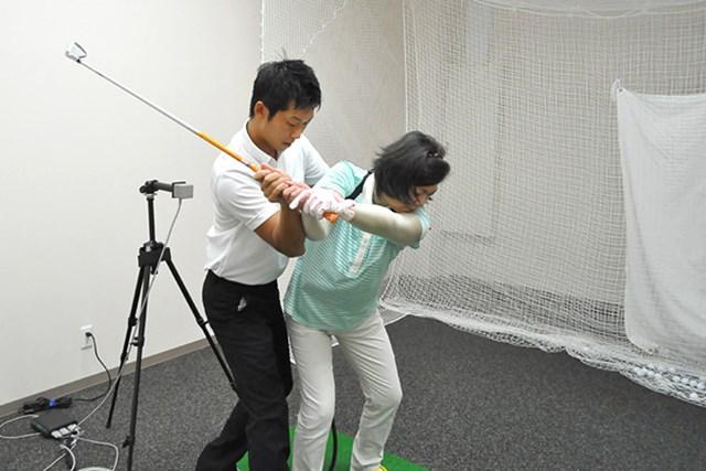 golftec コンパクトなトップへ徹底改善(2) 5-1