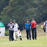 いや~ゴルフって楽しそうだね 2013年 伊藤園レディスゴルフトーナメント 初日 佐々木笙子 葭葉ルミ 杉本愛理