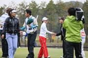 2013年 伊藤園レディスゴルフトーナメント 初日 横峯さくら 森田理香子