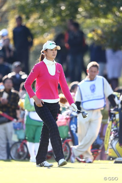2013年 伊藤園レディスゴルフトーナメント 2日目 日下部智子 伊藤園所属の日下部智子がイーグル奪取で決勝へ