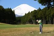 2013年 三井住友VISA太平洋マスターズ 最終日 富士山