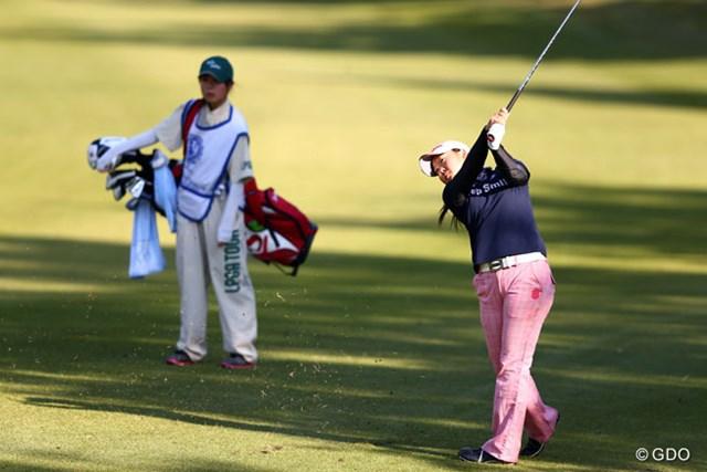 2013年 伊藤園レディスゴルフトーナメント 最終日 保坂真由 今日が18歳の誕生日の真由ちゃん。ベストアマ獲得でいい記念になったね