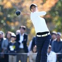 最終組で回った渡邉は、パープレーの「72」。新たな課題も見つけていた 2013年 伊藤園レディスゴルフトーナメント 最終日 渡邉彩香