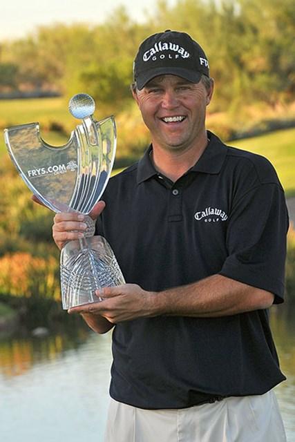2001年以来となる久々の勝利を挙げたC.ベックマン(Marc Feldman /Getty Images)