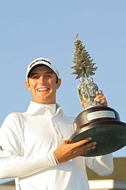 鮮やかな逆転により、ツアー初勝利を飾ったD.ジョンソン(Michael Cohen /Getty Images)