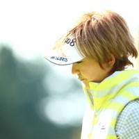 この髪型とっても似合ってる。 2013年 大王製紙エリエールレディスオープン 初日 櫻井有希