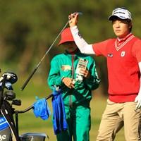 安定度抜群のゴルフで68をマーク。首位タイに躍り出ました。 2013年 ダンロップフェニックストーナメント 2日目 S.J.パク