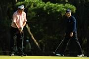2013年 ダンロップフェニックストーナメント 2日目 尾崎将司、トム・ワトソン