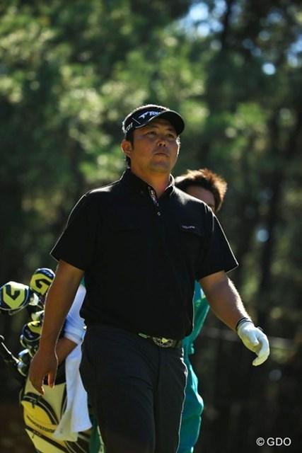 今日はルークとのラウンドでした。ルークのゴルフに圧倒されてしまったか・・・。15位タイに後退。
