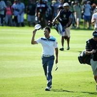 母国のナショナルオープン初制覇へC.シュワルツェルは単独首位で最終日を迎える(Getty Images) 2014年 南アフリカオープン選手権 3日目 チャール・シュワルツェル