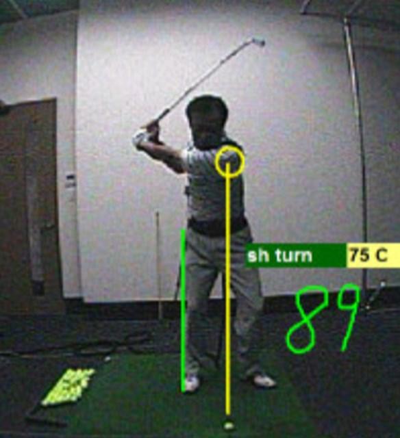 golftec アマチュア的上下動の正し方 1-1