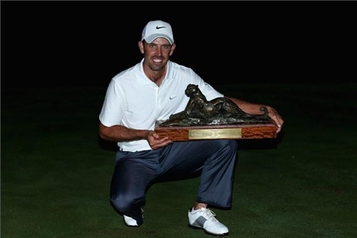 昨年は圧勝で2度目の大会制覇を果たしたチャール・シュワルツェル(Getty Images) 2013年 アルフレッド・ダンヒル選手権 事前 チャール・シュワルツェル
