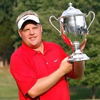 最終日もスコアを伸ばし、今季初勝利を飾ったC.ペターソン(Kevin C. Cox /Getty Images) カール・ペターソン