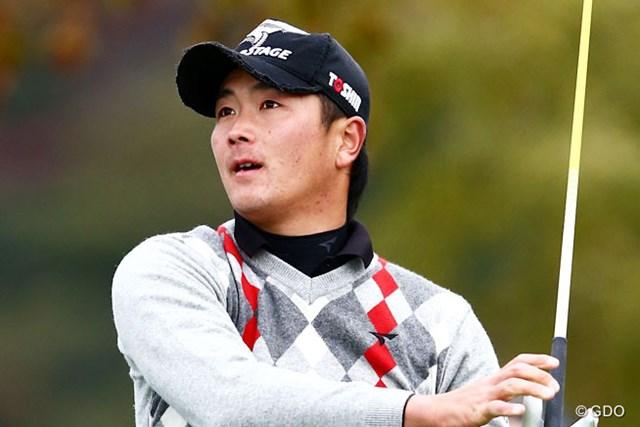2013年 カシオワールドオープンゴルフトーナメント 初日 永野竜太郎 賞金ランキングボーダーライン初日好スタートの2アンダー2位T