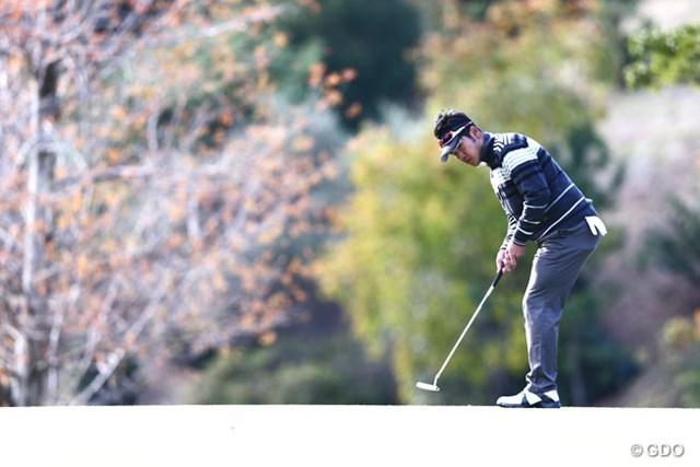 2013年 カシオワールドオープンゴルフトーナメント 初日 松山英樹 ボギーがあればバーディもイーブンスタート