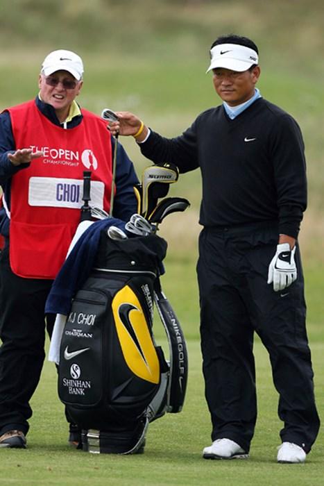 アジア勢で最もメジャーに近いと言われる韓国の崔京周が単独首位に浮上した(Andy Lyons/Getty Images) 崔京周