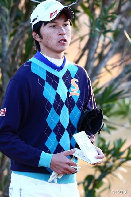 2013年 カシオワールドオープンゴルフトーナメント 初日 大堀裕次郎 2013年日本アマ優勝者の大学4年生は1アンダー8位T