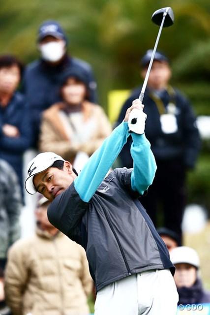 2013年 カシオワールドオープンゴルフトーナメント 初日 手嶋多一 現役最長17年連続での賞金シードを継続中の手嶋多一。現在は圏内だが気は抜けない。