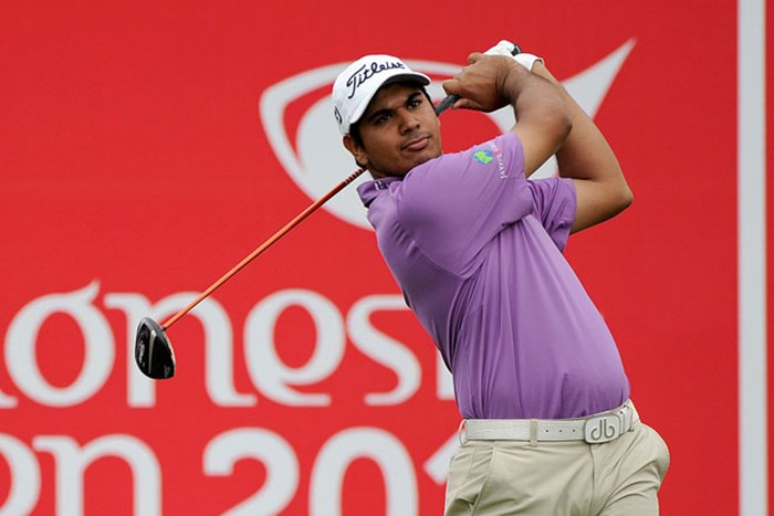 インドのG.ブラーが「64」をマークして、7アンダーで単独首位の好スタートを切った※画像提供:アジアンツアー 2013年 インドネシアオープン 初日 ガガンジート・ブラー
