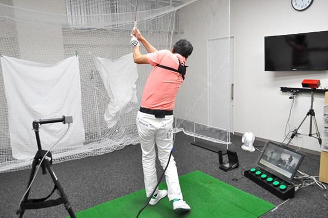 golftec クラブを体の正面に保つ感覚とは? 1-1