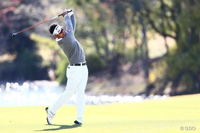2013年 カシオワールドオープンゴルフトーナメント 2日目 松山英樹 怪物ルーキーが6バーディ、ノーボギーで首位に浮上!記録ずくめの快挙に挑む