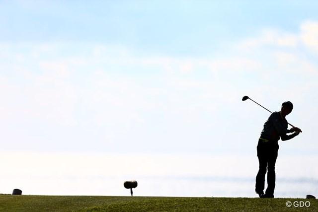2013 カシオワールドオープンゴルフトーナメント 2日目 大堀裕次郎 この1打目から大堀裕次郎の悲劇は始まった