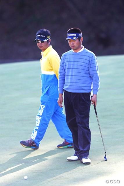 17番グリーンの池田勇太。その心中は穏やかではなかったはずだ