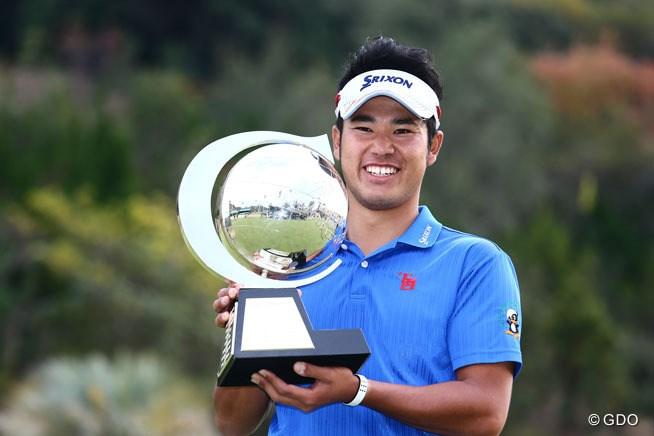 勝って決めた!松山英樹、史上初のルーキー賞金王戴冠
