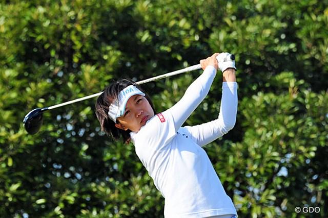 2013年 LPGAツアーチャンピオンシップリコーカップ 最終日 テレサ・ルー 賞金女王争いや優勝争いがあって、最終組をなかなか撮影することができんかったんですが、堂々の2位ですやん!さすが米ツアー覇者や~!