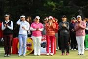 2013年 LPGAツアーチャンピオンシップリコーカップ 最終日 表彰式