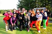 2013年 LPGAツアーチャンピオンシップリコーカップ 最終日 集合写真