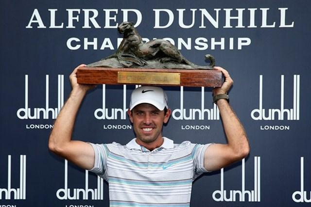 2013年 アルフレッド・ダンヒル選手権 最終日 チャール・シュワルツェル 今大会を得意とするシュワルツェルが、昨年に続く連覇で3度目の大会制覇を果たした(Getty Images)