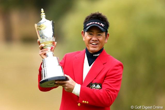 今季未勝利で最終戦を迎える藤田寛之が大会4連覇の偉業に挑む