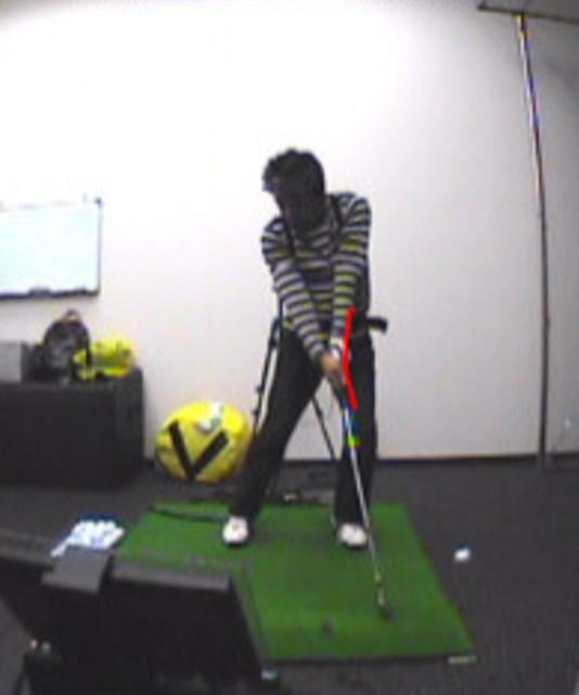 golftec ターフの取れるインパクトを作る! 1-1