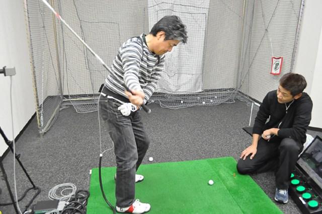 golftec ターフの取れるインパクトを作る! 3-2