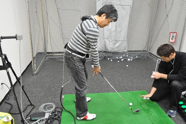 golftec ターフの取れるインパクトを作る! 6-1